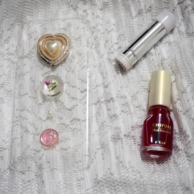 ハンドメイド iPhoneケース ハンドメイドのスマホケース/アクセサリー(スマホケース)の商品写真