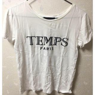 クルーンアソング(CROON A SONG)のCROON A SONG Tシャツ ティーシャツ トップス 白 ホワイト(Tシャツ(半袖/袖なし))