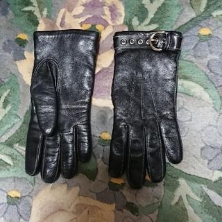 コーチ(COACH)のCOACH革手袋(手袋)