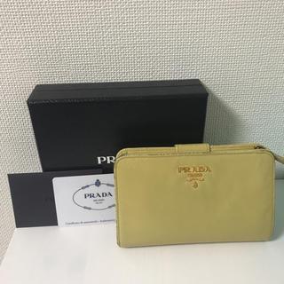 プラダ(PRADA)のプラダ サフィアーノ 二つ折り 財布(財布)