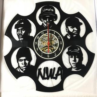 レコード 時計 N.W.A 12インチ(ターンテーブル)