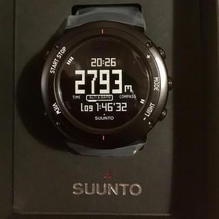スント(SUUNTO)のSUUNT CORE スント コア ディープブラック(腕時計(デジタル))