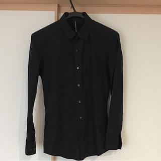ニールバレット(NEIL BARRETT)のニール バレットシャツ☆ブラック(Tシャツ/カットソー(七分/長袖))