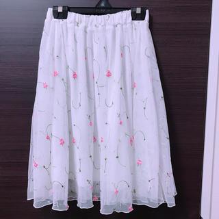 ハニーズ(HONEYS)のhoneys 刺繍 スカート(その他)