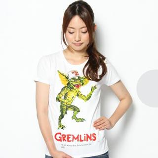 メディコムトイ(MEDICOM TOY)の新品★グレムリン ストライプ Tシャツ 白 XS★GREMLiNS (Tシャツ(半袖/袖なし))