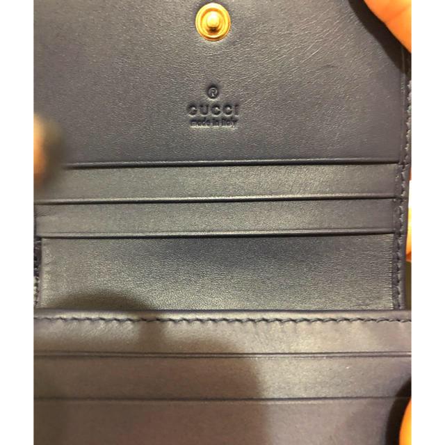 48b8d229b51d Gucci - MOOO様専用 グッチデニム刺繍 マーモント 二つ折り財布 ミニ財布 ...