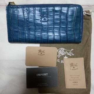 イルビゾンテ(IL BISONTE)の新品 IL BISONTE イルビゾンテ クロコ型押し 長財布 ロングウォレット(財布)