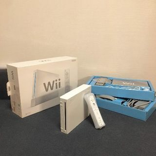 Wii - 【送料無料】Wii本体フルセット