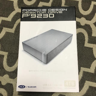 ポルシェデザイン(Porsche Design)のPORSCHE DESIGN DESKTOP DRIVE P'9230(PC周辺機器)