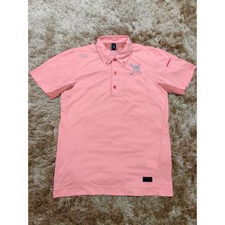 オークリー(Oakley)のオークリーOAKLEY メンズ ピンク ポロシャツ サイズL(ウエア)