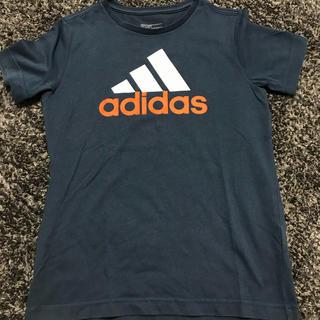df2deb9821a71 アディダス(adidas)のadidas 紺色 子供服 Tシャツ(Tシャツ カットソー