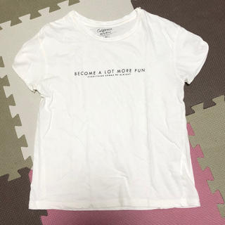 ミスティウーマン(mysty woman)の《美品》ロゴT(Tシャツ(半袖/袖なし))