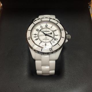 シャネル(CHANEL)のシャネル j12 ホワイトセラミック (腕時計(アナログ))