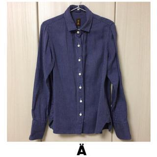 エィス(A)の【美品】A エィス 2wayギャザーシャツ(シャツ/ブラウス(長袖/七分))