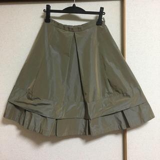 アマカ(AMACA)の 美品☆MANO MANO マーノマーノ スカート ウールン商会(ひざ丈スカート)