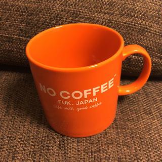 NO COFFEE F:BOOK コラボマグカップ オレンジ