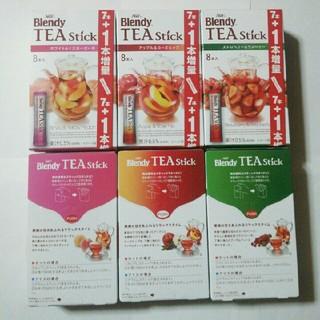 エイージーエフ(AGF)のBlendy TEA Stick 6箱(その他)