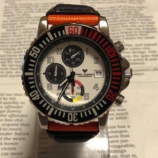 マリオバレンチノ(MARIO VALENTINO)のMARIO VALENTINO クロノグラフ クォーツ デイト 腕時計 メンズ(腕時計(アナログ))