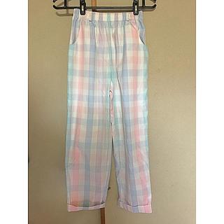 パナマボーイ(PANAMA BOY)の古着 カラーパンツ パジャマパンツ(カジュアルパンツ)