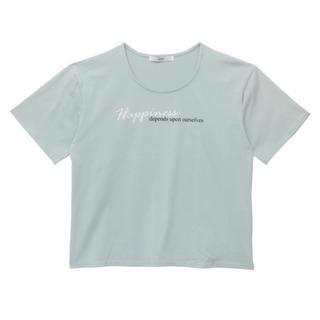 エイミーイストワール(eimy istoire)のeimy/エンブロイダリーメッセージTシャツ(Tシャツ/カットソー)