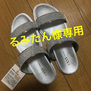 新品‼️キラキラ★サンダル【LL】幅広‼️楽々とっても履きやすい‼️夏にピッタリ(サンダル)