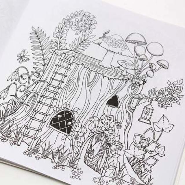 塗り絵 英語版 魔法の森 Bvaの通販 By ほのかs Shopラクマ