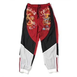 ミハラヤスヒロ(MIHARAYASUHIRO)のdoublet BREAK UP EMBROIDERY TRACK PANT(その他)