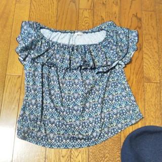 ミューズミューズ(muse muse)のmusemuse 花柄Tシャツ(Tシャツ(半袖/袖なし))