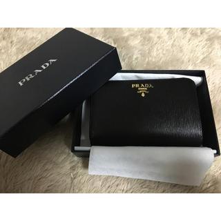プラダ(PRADA)の新品正規品 PRADA サフィアーノ 折財布(財布)