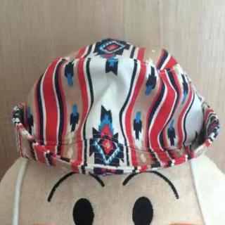 シシュノン(SiShuNon)のシ・シュ・ノン☆北欧柄ハット☆46-48cm(帽子)