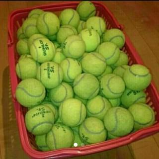 ダンロップ(DUNLOP)の中古テニスボール 93球(ボール)