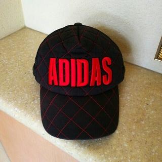 アディダス(adidas)の【状態良し❗✨】adidas  CAP (キャップ)