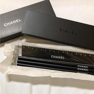 シャネル(CHANEL)のCHANEL ☆ ペンケース&鉛筆定規セット ノベルティ(ペンケース/筆箱)
