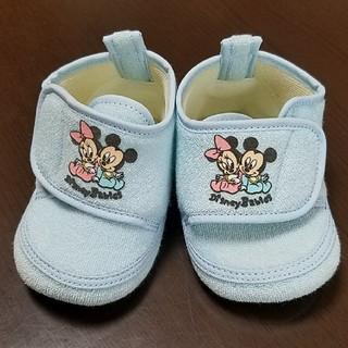 ディズニー(Disney)の新品 ベビーシューズ ミッキー、ミニー 12cm(その他)