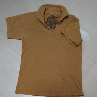 フォーティーファイブアールピーエム(45rpm)の45rpm カーキ色ポロシャツ(ポロシャツ)