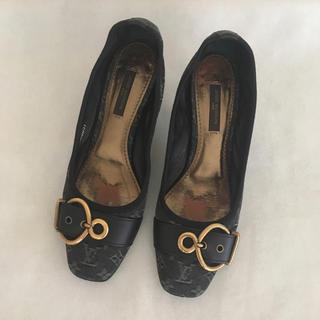 ルイヴィトン(LOUIS VUITTON)のルイヴィトン パンプス デニム 靴(ハイヒール/パンプス)