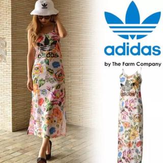 アディダス(adidas)のadidas オリジナルス ワンピース 新品(ロングワンピース/マキシワンピース)