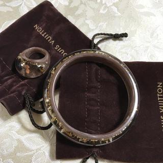 ルイヴィトン(LOUIS VUITTON)の美品!ルイヴィトン 指輪&バングルセット(リング(指輪))