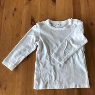 ムジルシリョウヒン(MUJI (無印良品))の無印 長袖 Tシャツ 90(Tシャツ/カットソー)