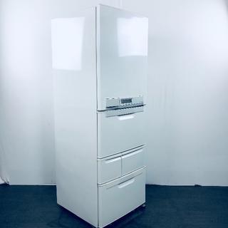 トウシバ(東芝)の★送料,設置費無料★ 東芝 2002年 5ドア冷蔵庫(No,569)(冷蔵庫)