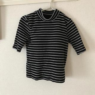 ジーユー(GU)のショート丈 (Tシャツ(長袖/七分))