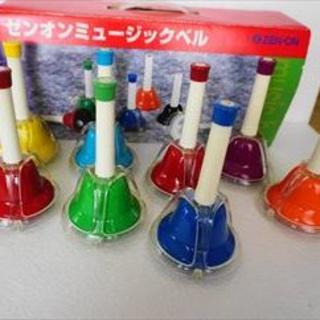 のゆる様専用 ゼンオン ミュージックベル カラータッチ式タイプ8音セット(ハンドベル)