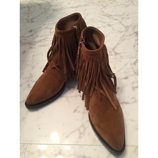 ルイヴィトン(LOUIS VUITTON)の❤️新品✨ルイヴィトンショートブーツ38ハーフ♥️(ブーツ)