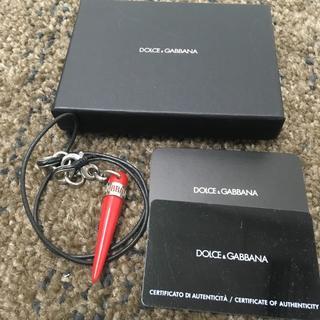ドルチェアンドガッバーナ(DOLCE&GABBANA)のドルガバ ネックレス コルノ(ネックレス)