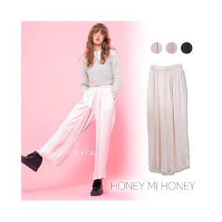 ハニーミーハニー(Honey mi Honey)のHoney mi honey * satin pajamas pants(その他)