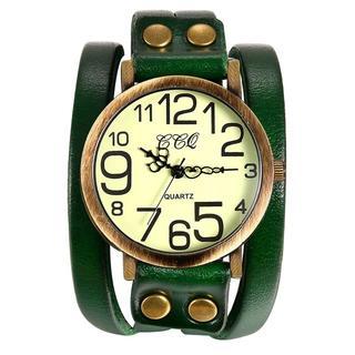 レディース アンティーク ブレスレット 腕時計 ☆ グリーン(腕時計)