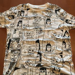 シマムラ(しまむら)のポプテピピック Tシャツ(Tシャツ/カットソー(半袖/袖なし))