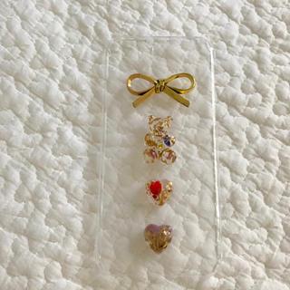 antique ribbon iphone case🐻🎗(スマホケース)