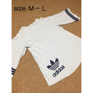 アディダス(adidas)のadidas  変形Tシャツ  80's(Tシャツ/カットソー(七分/長袖))