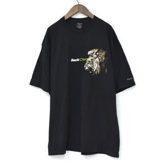 バックチャンネル(Back Channel)のBack Channel バックチャンネル ライオン Tシャツ 黒 XL(Tシャツ/カットソー(半袖/袖なし))